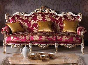 Baroque divano, Divano barocco intagliato