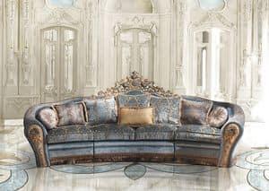 Bijoux A/2763/3, Divano in stile classico di lusso