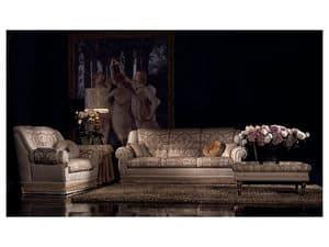 Cinzia divano, Divano capitonn�, classico di lusso, varie misure