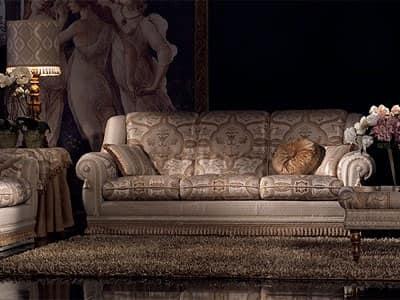 Divani capitonn cinzia divano - Divano classico lusso ...