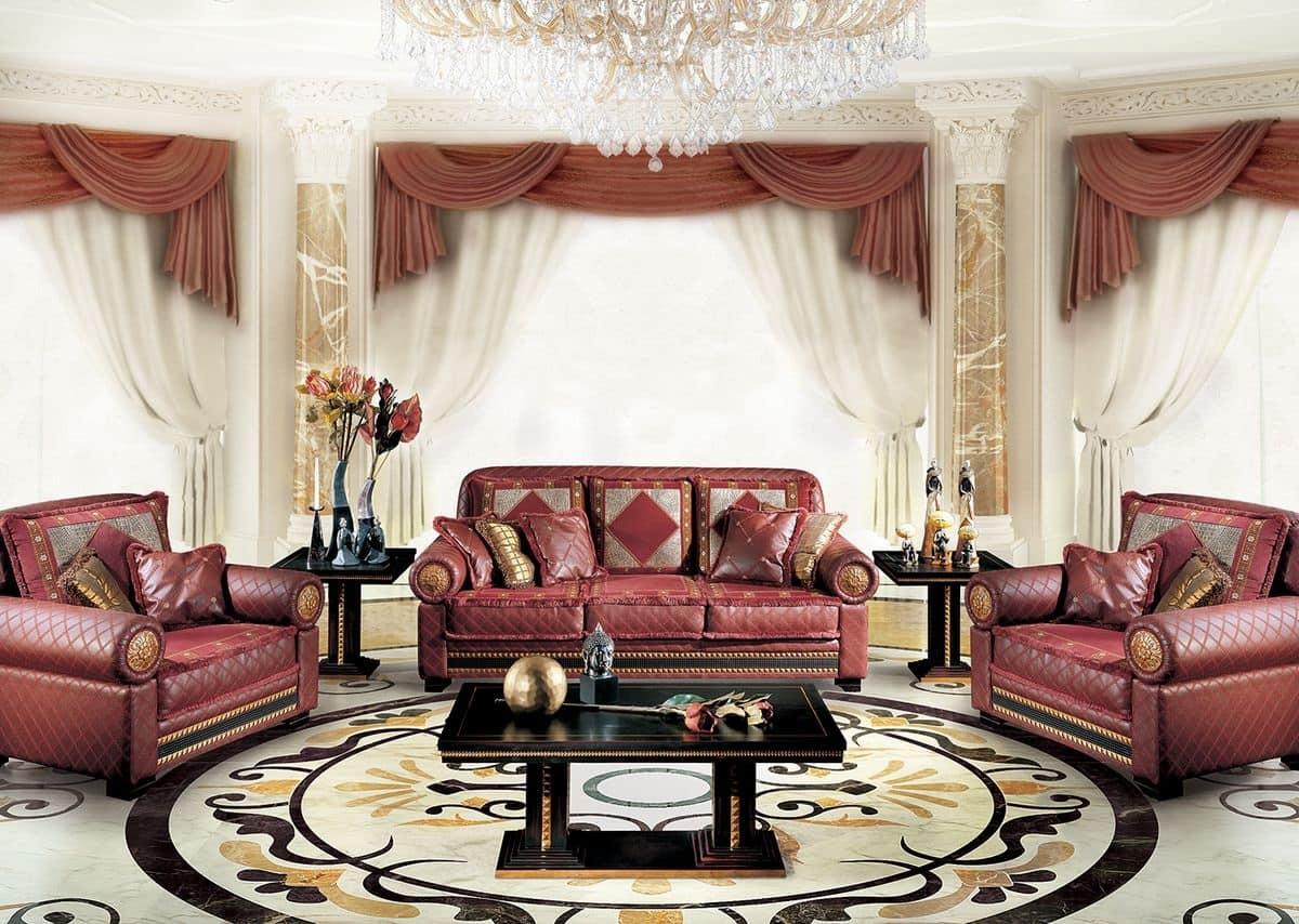 Salotti moderni di lusso soggiorni di lusso arredamento for Arredamento moderno di lusso