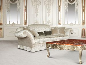 Divano 4920, Divano di lusso in stile classico