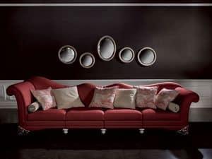Immagine di Divano Doge Rosso, divano capitonn�