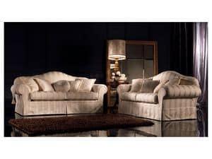 Immagine di Elena, divano classico di lusso