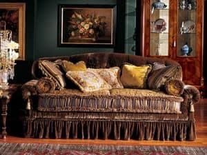 Immagine di Elena divano, divano imbottito