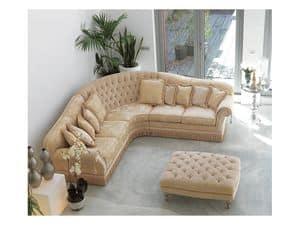 Immagine di Glicine Angolare, divani imbottiti