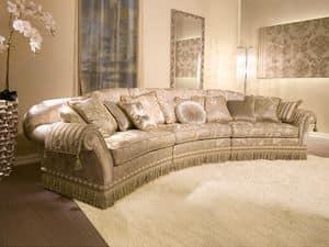 Immagine di Glicine Ring, divano classico di lusso