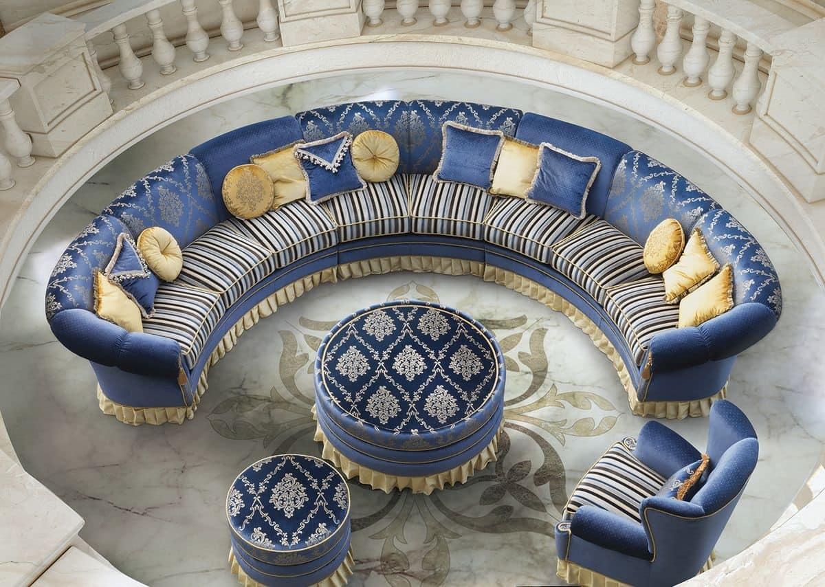 Divani Rotondi Classici ~ Idee per il design della casa