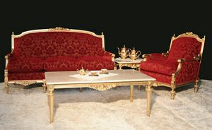 Impero salotto classico, Elegante salotto in stile impero