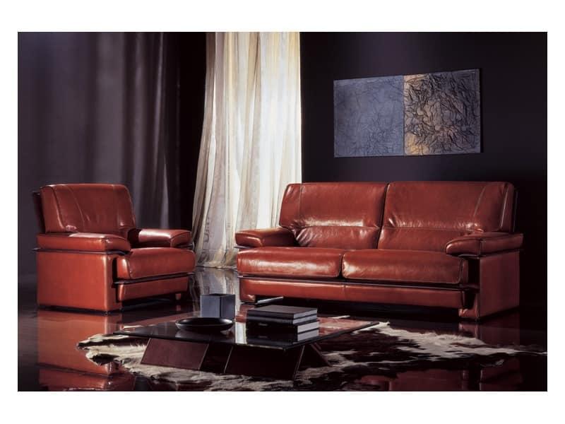 Madison divano classico di lusso reception idfdesign - Divano classico lusso ...