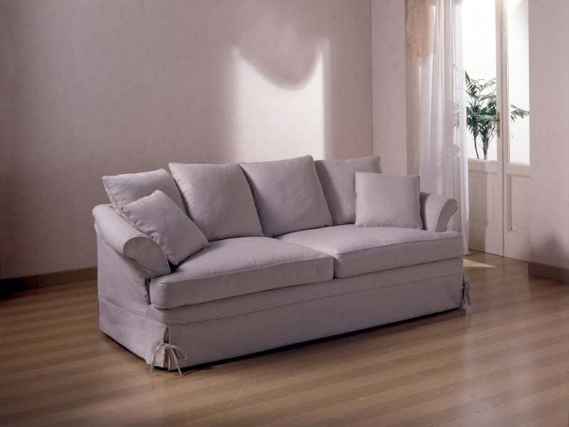 divano da salotto in tessuto sfoderabile idfdesign