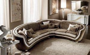 Mir� divano angolare, Divano modulare, confortevole, morbido e lussuoso