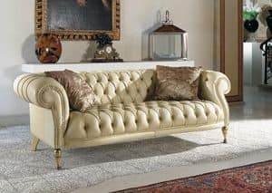Immagine di Mozart, divano classico di lusso
