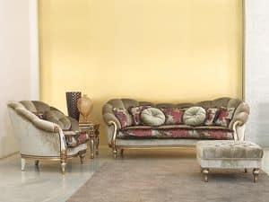 Immagine di Olympia, divano classico di lusso