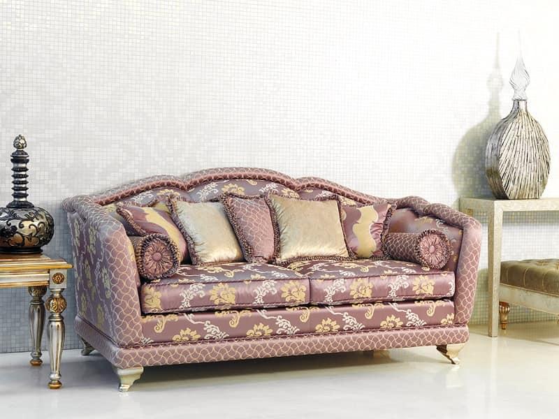 Divano classico di lusso reception idfdesign - Divano classico lusso ...