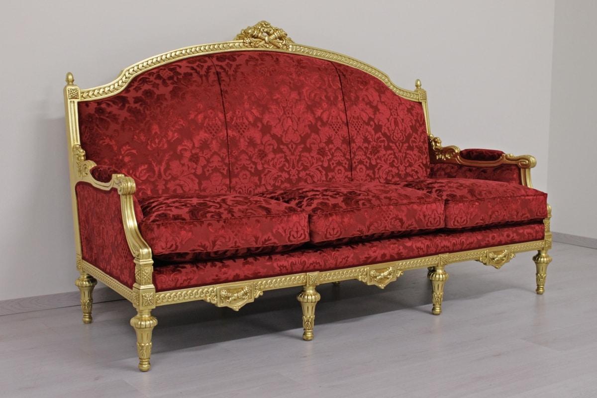 Ufficio Stile Inglese : Salotto classico di lusso in stile impero idfdesign