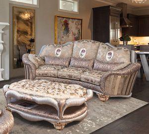 Prodige divano, Divano classico con lavorazione a plissè