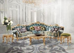 Immagine di Saint Germain A/2710, divani classici di lusso