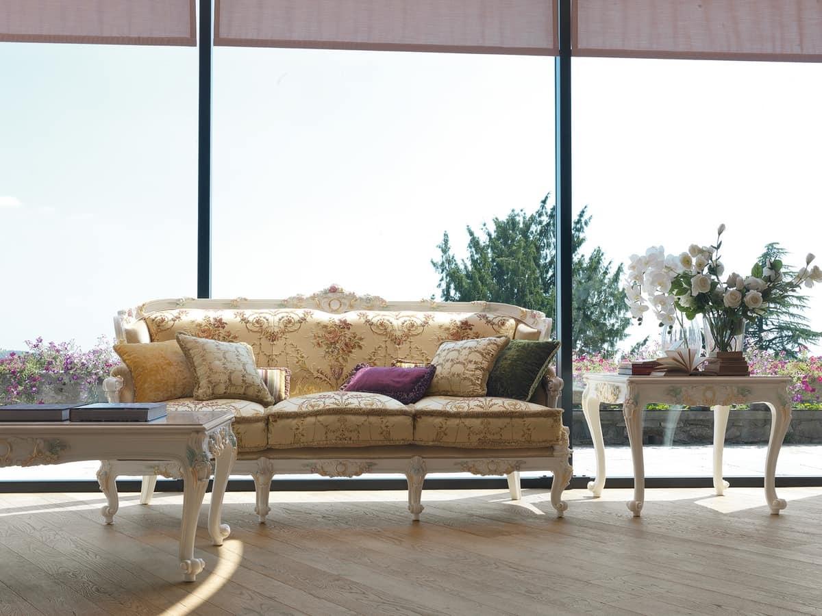 Serena divano, Divano classico, realizzato artigianalmente