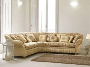 Immagine di Teseo, divano classico di lusso
