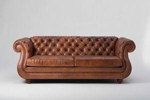 Tipo divano, Divano impreziosito dalla lavorazione capitonnè