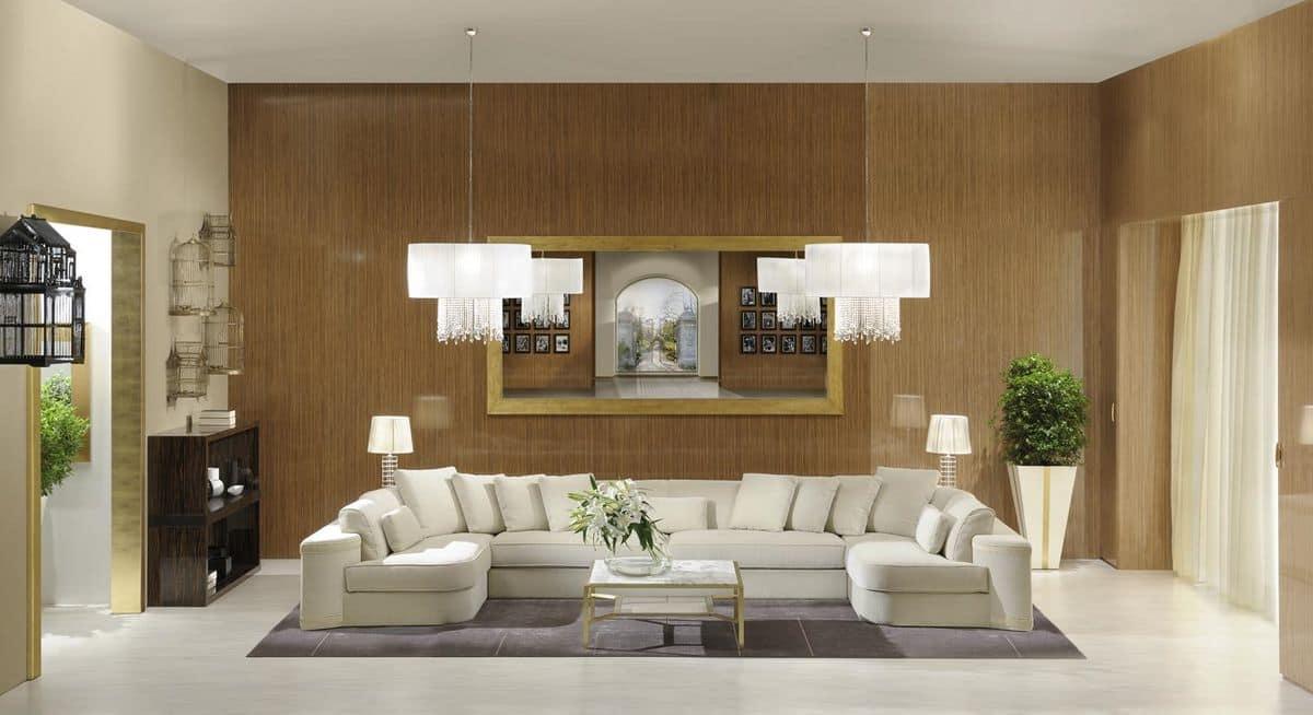 Divani in velluto lusso idee per il design della casa for Disegni di casa in stile fattoria