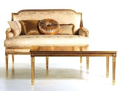 Divano imbottito vanessa divano - Piccolo divano imbottito ...