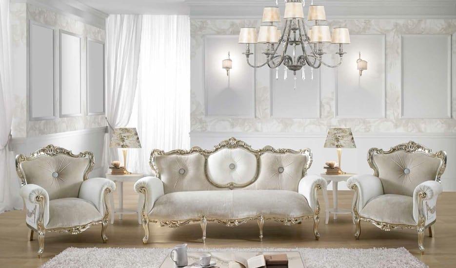 Divano barocco con swarovski idfdesign for Divano barocco