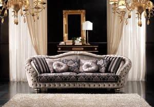 Admiral, Elegante divano in stile classico