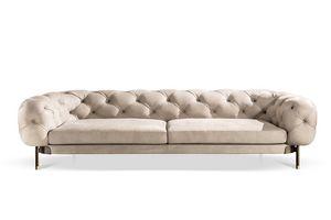Aten� divano, Divano capitonn� dal sapore regale e ricercato