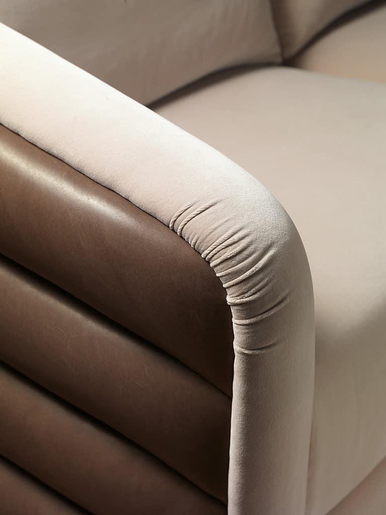 DI31 Desyo divano, Divano 3 piazze ideale per ambienti in stile classico
