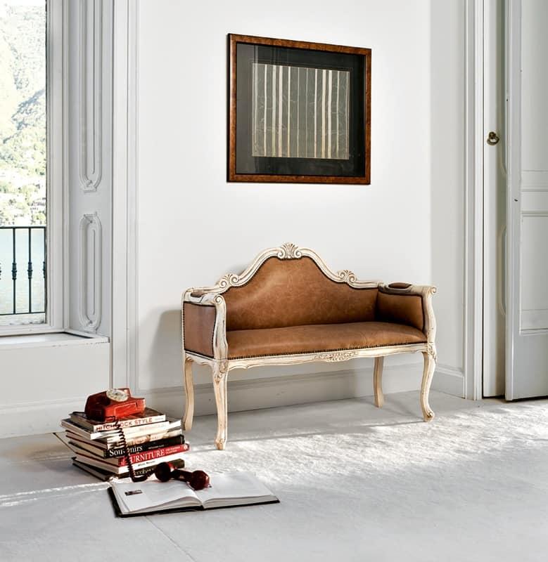 Divano laccato in pelle in stile classico di lusso for Fenice design sedie ufficio