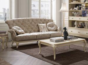 Florentia divano, Divano a tre posti classico