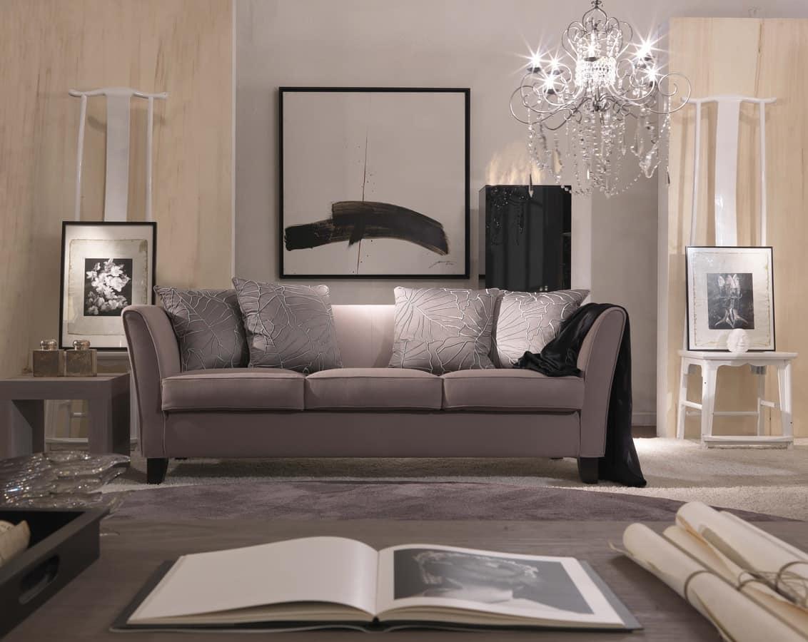 elegante divano in stile classico contemporaneo idfdesign