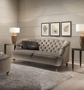 Gray, Divano classico, per aree attesa e salotti