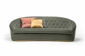 Jasper divano, Divano dalle forme arrotondate