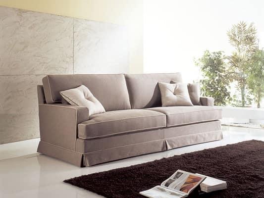 Divani eleganti idee creative e innovative sulla casa e for Divani lunghi