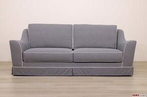 Marte divano, Divano con linee morbide in stile classico, interamente sfoderabile