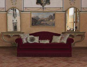 Monica divano, Divano in stile classico, con colori personalizzabili