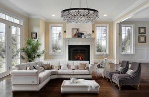 OXFORD componibile, Elegante divano classico componibile