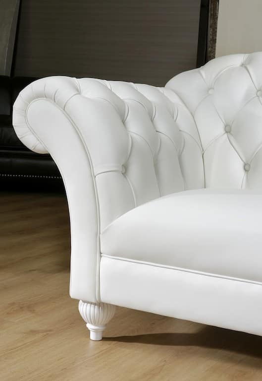 SHAGGY divano 8547L, Divano in stile classico contemporaneo, vari colori