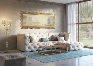 Venere divano, Divano modulare, con decoro capitonné
