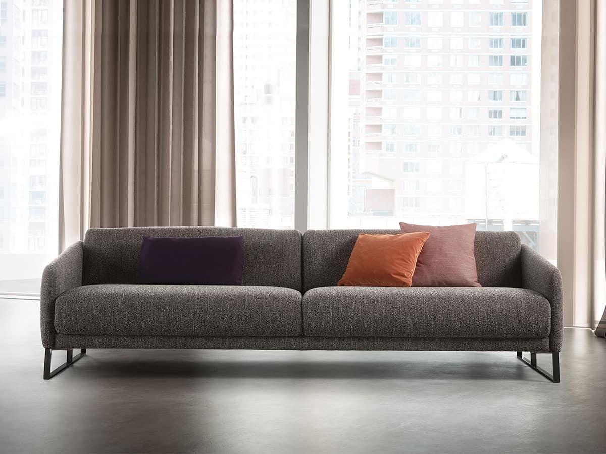 Comodo divano con meccanismo di allungamento della seduta for Amazon divani