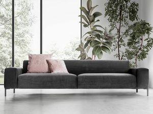 Boston liscio, Confortevole divano, dal design raffinato