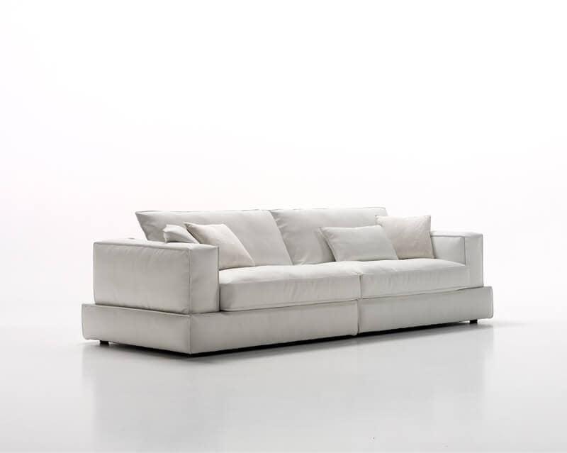 Sistema di divani componibili, rivestimento in tessuto o ...