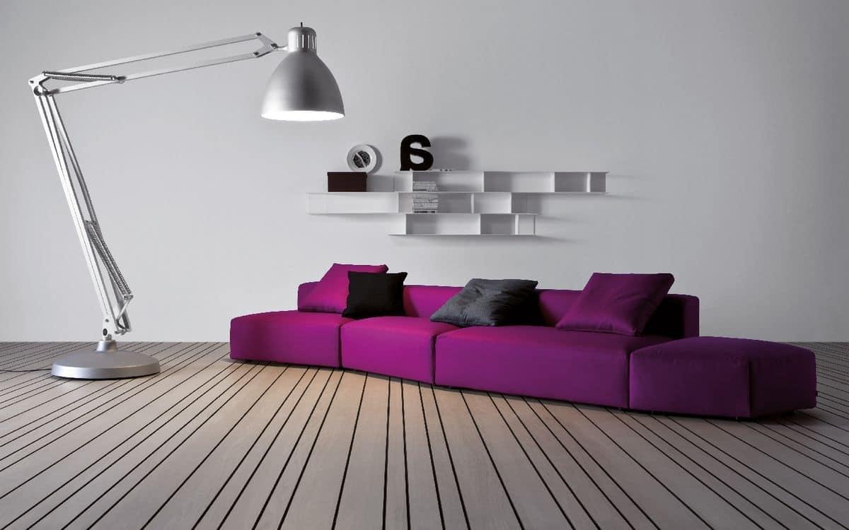 Divanetto design componibile per salotti moderni idfdesign for Salotti moderni