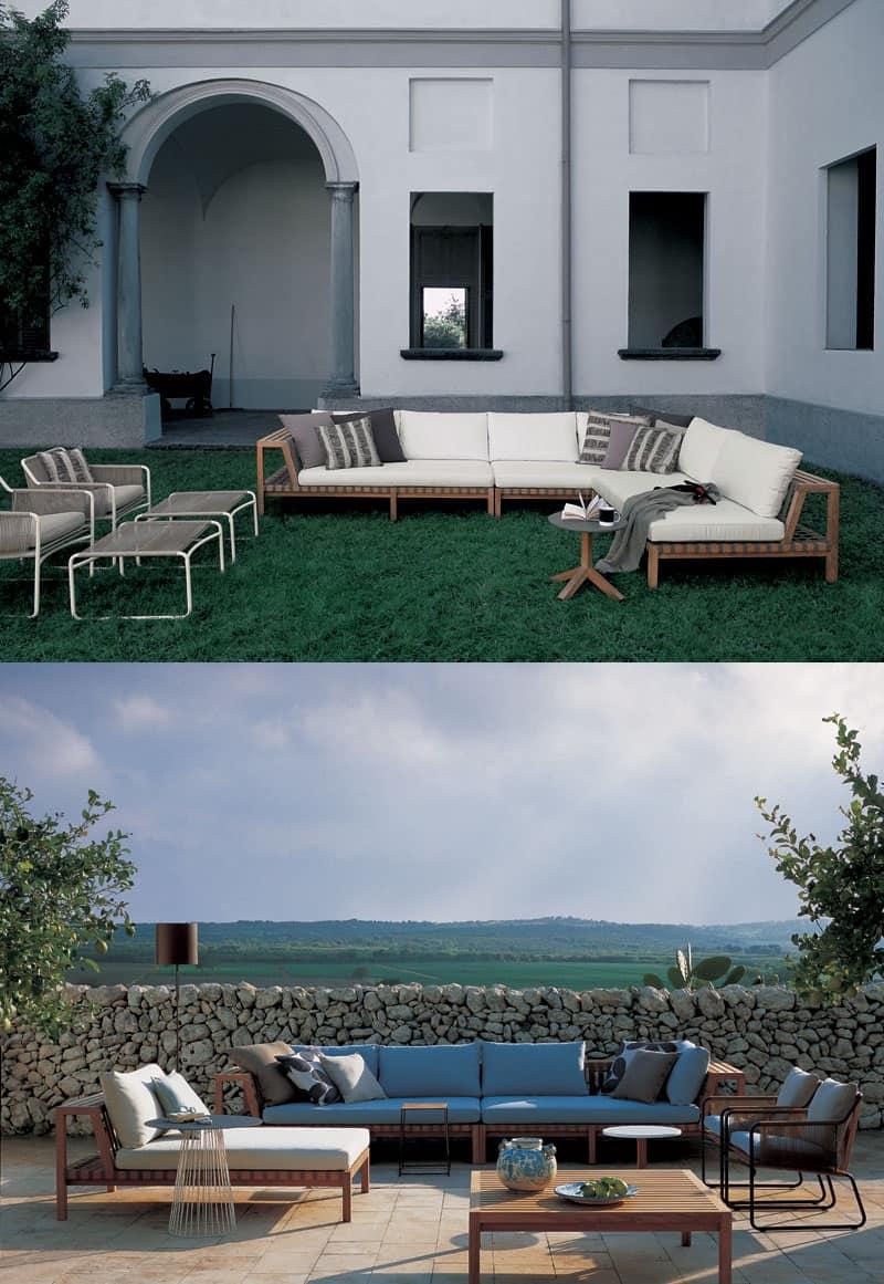 Imbottiti divani divani design moderno idf - Composizione giardino ...