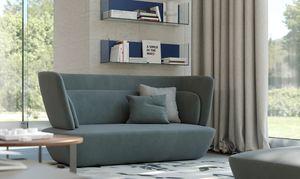 SOHO divano, Divano dalle forme arrotondate