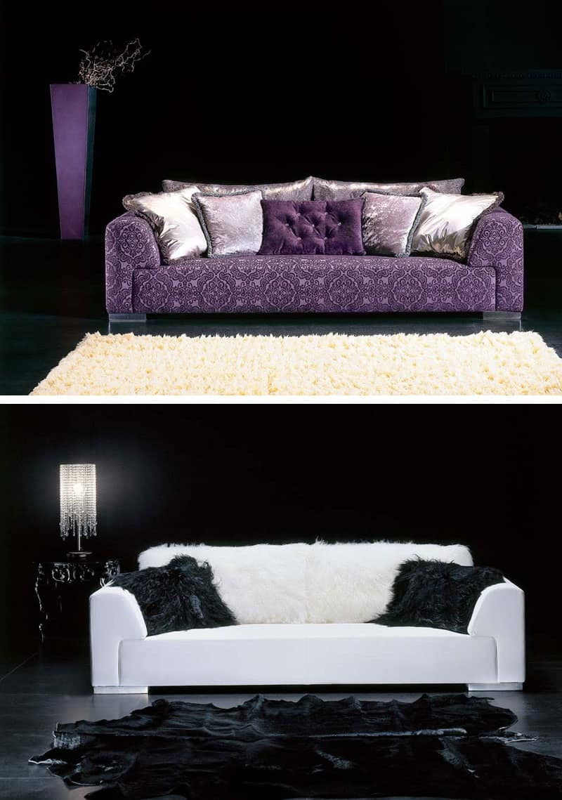 Divano tessuto damascato idee per il design della casa - Prodotti per pulire il divano in tessuto ...