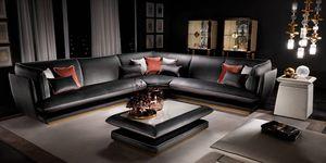 ALLURE divano modulare, Divano componibile dal gusto italiano